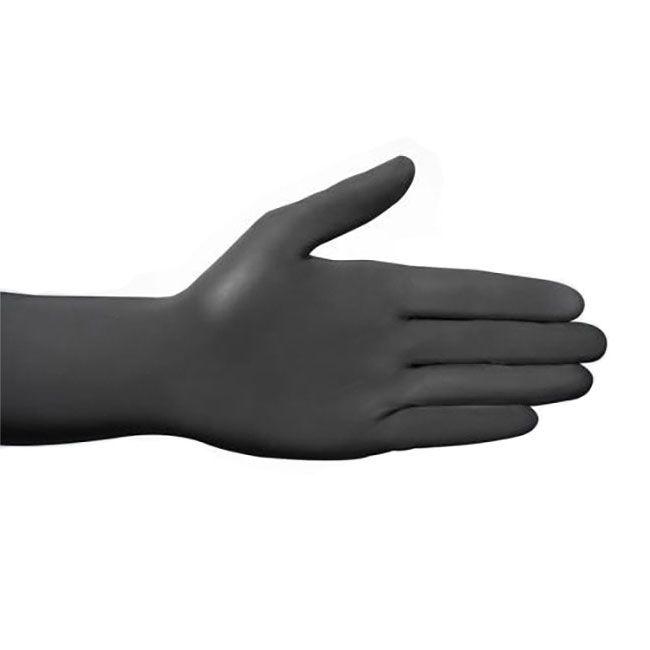Nitril Einweghandschuh Style, 0.08mm schwarz /N