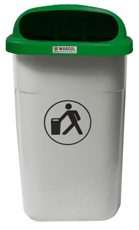 Abfallbehälter Hartpolyethylen 50 l