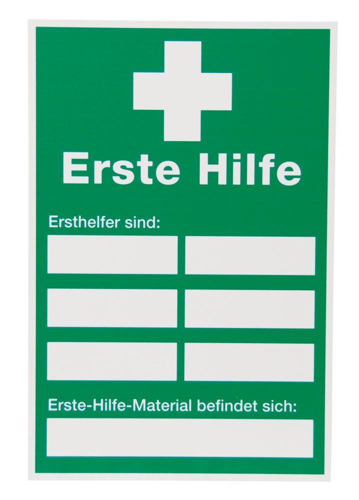 Erste-Hilfe-Schild, 200 x 300mm