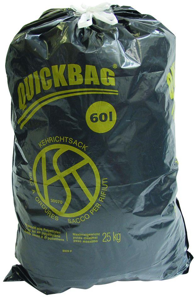 OKS Zugband-Kehrichtsack 60 l
