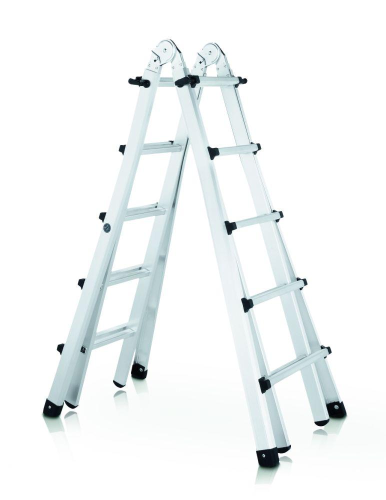 Zarges Teleskop-Mehrzweckleiter 4-teilig
