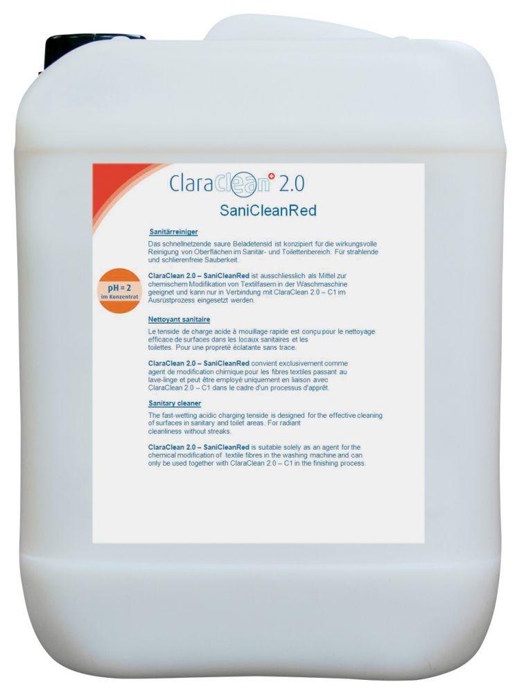 ClaraClean 2.0 - Sani Clean Red