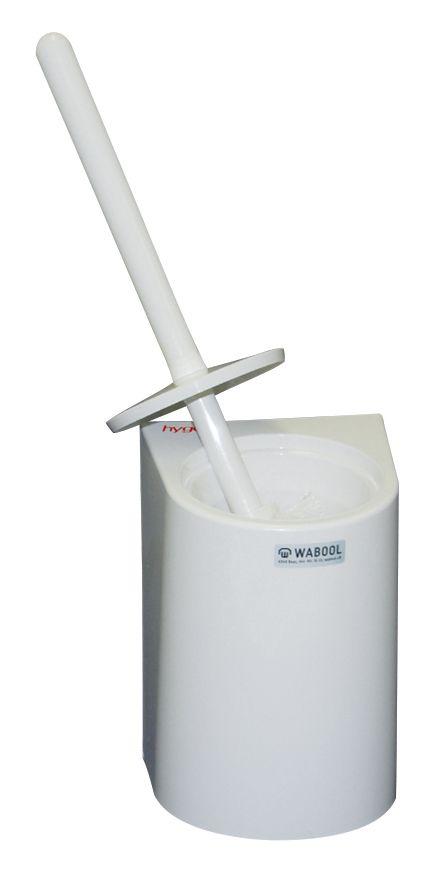 WC-Garnitur weiss - Wandmodell
