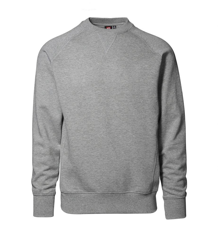 Herren Arbeits-Pullover Basic grau /N
