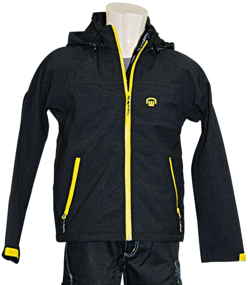 Softshell-Jacke schwarz