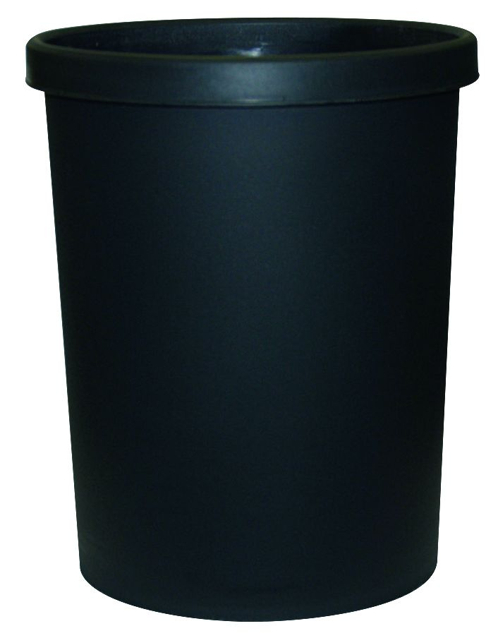Papierkorb 45 l, schwarz