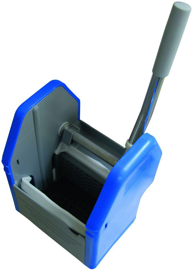 Vertikalpresse blau