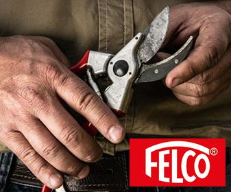 Felco - innovative und nachhaltige Gartengeräte