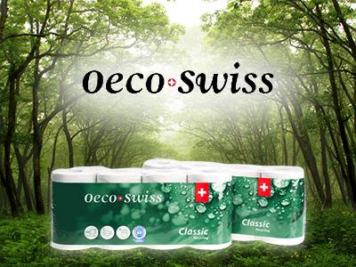 Oeco Swiss - Hygiene- und Toilettenpapier aus Schweizer Produktion